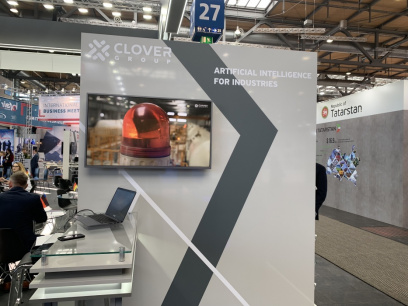Clover Group Solutions were Presented at HANNOVER MESSE 2019